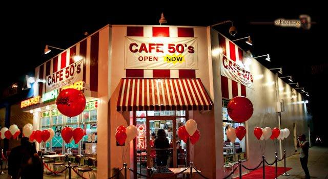 Cafe 50's -A Fifties Style Restaurant in 2010