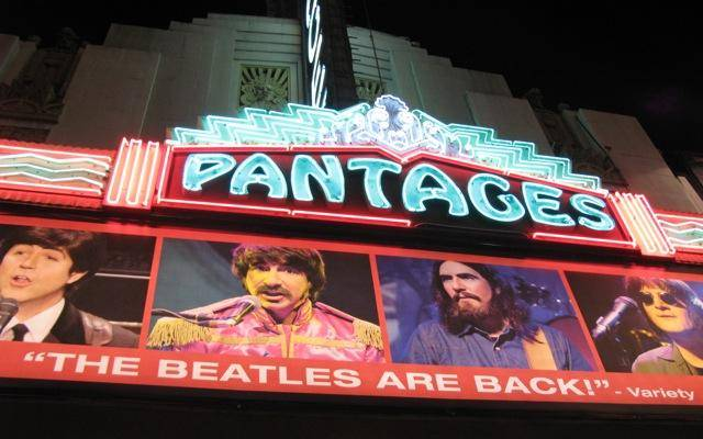 """Rain,"" A Tribute To The Beatles at the Pantages"