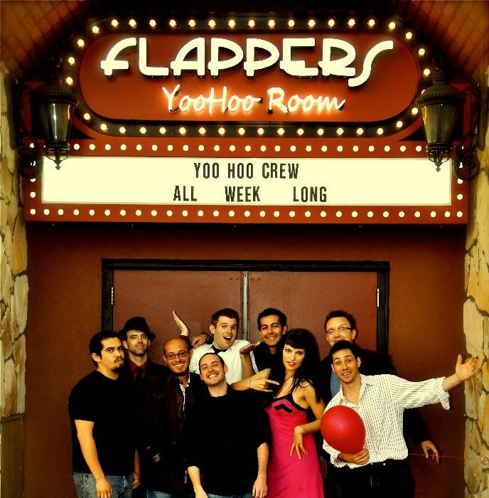 The Yoo Hoo Room at Flappers Comedy Club in Burbank