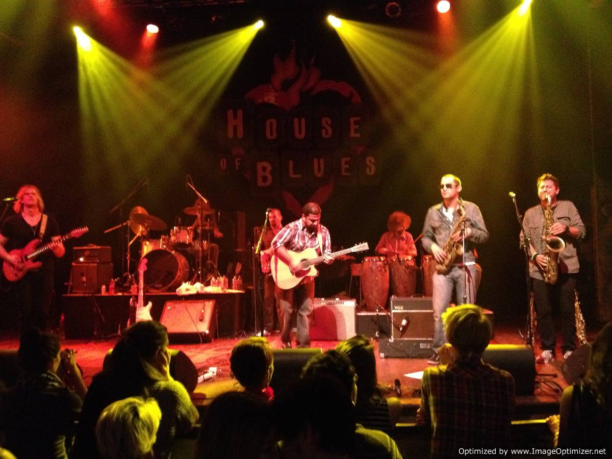 The Nikhil Korula Band Rocks The Stage At The House Of Blues In  Los Angeles