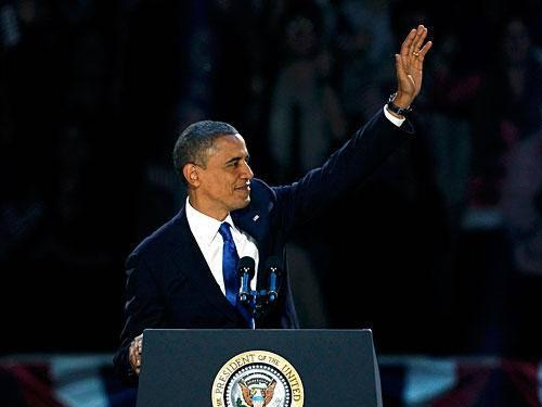 Barack Obama Wins Second Term as President