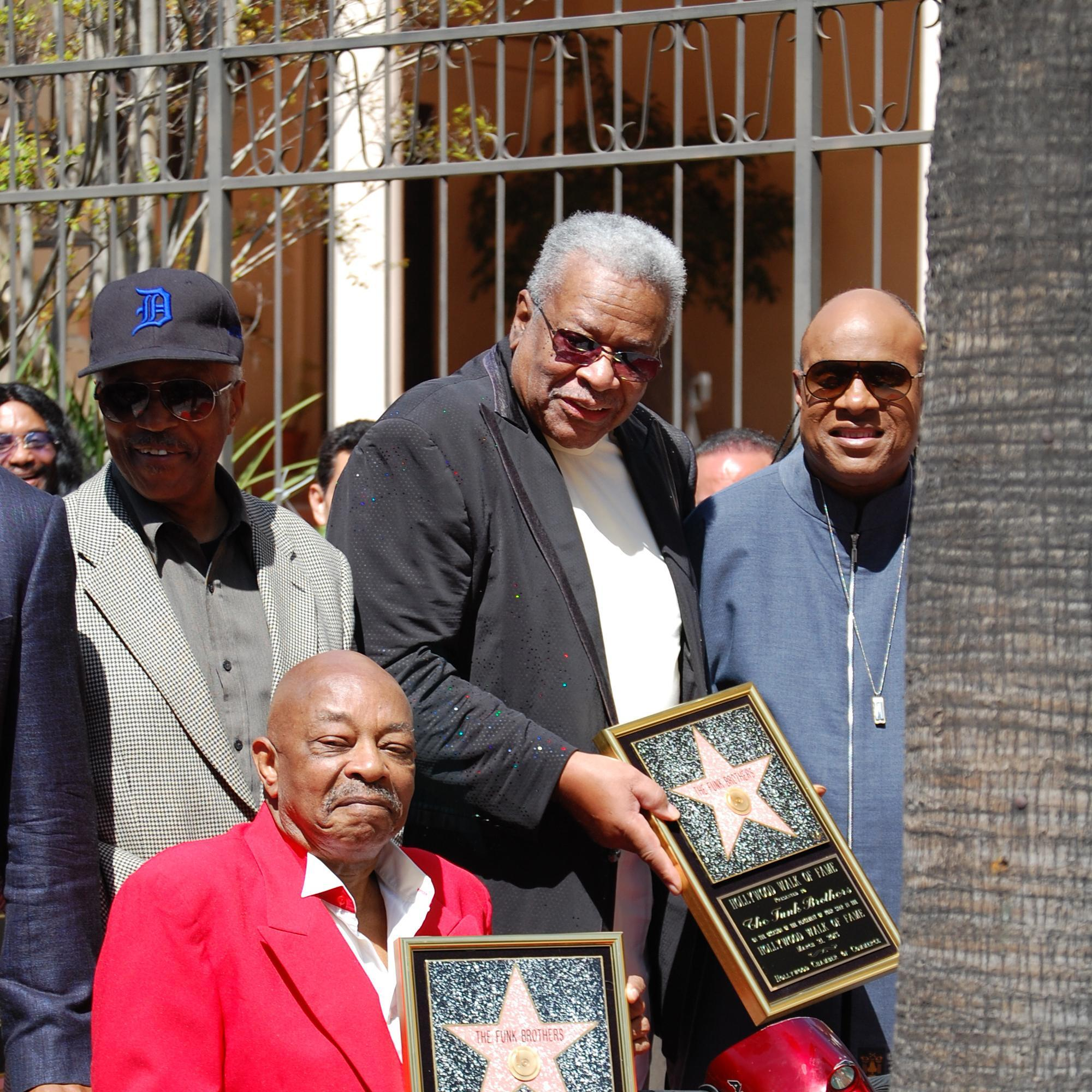 The Funk Brothers Honored at Hollywood Walk of Fame