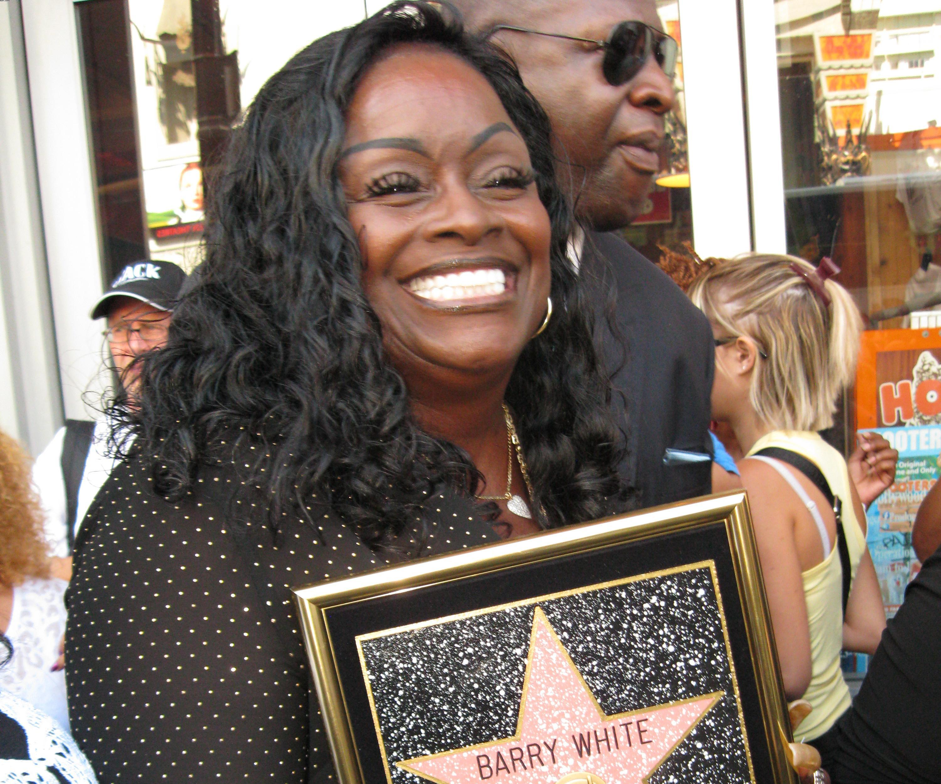 Barry White's Star- The Hollywood Walk of Fame