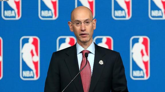 "NBA Commissioner Adam Silver: ""Mr. Sterling's Views 'Simply Have No Place In The NBA.'"""