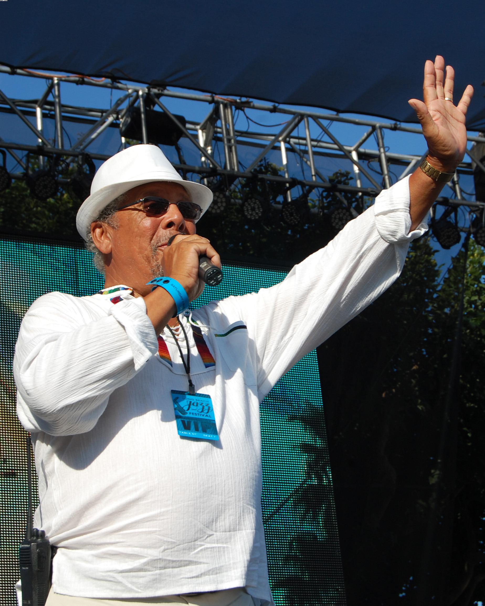 Al Williams Honored at 27th Annual Long Beach Jazz Festival