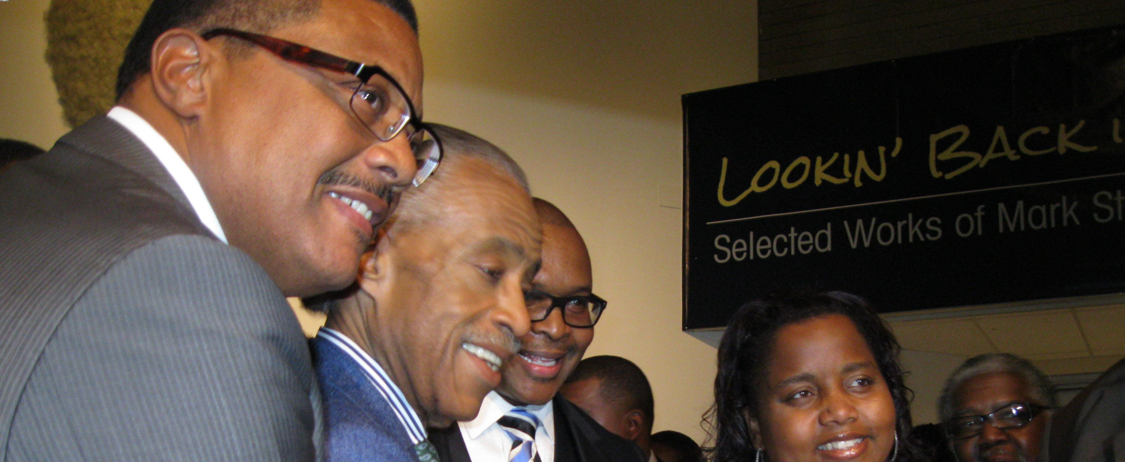 Rev Al Sharpton Celebrates Birthday at the California African American Museum