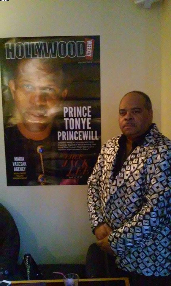 Hollywood Weekly Honors Prince Tonye-Princewill at Pre-Grammy Event