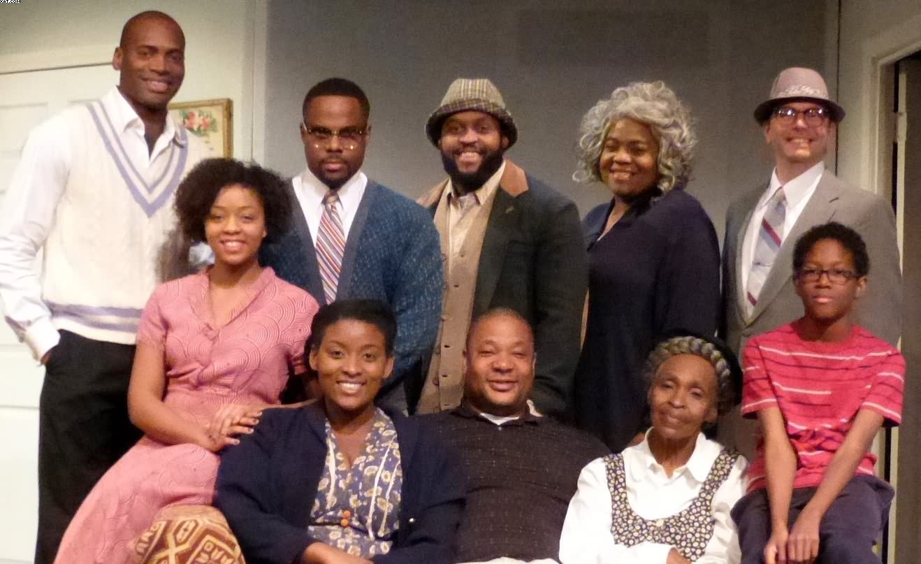 "Mamie Hansberry visits Kentwood Players Production of Lorraine Hansberry's  ""A RAISIN IN THE SUN"""