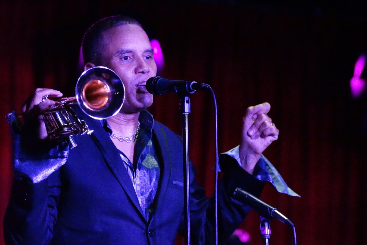 "JOHNNY BRITT DEBUTS CD PROJECT, ""MARVIN MEETS MILES"""