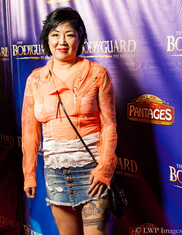 Cover Photo- Comedienne Margaret Cho was one of the many celebrities that showed up at the Pantages Theatre. Inside photo- Actress Angela Bassett. Both photos by Lamar Webster.