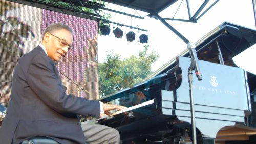 Cover photo: Jazz and music icon Barbara Morrison wows The Long Beach Jazz Festival  audience. Inside photo: Jazz and R&B legend Ramsey Lewis. Both photos by Kim Webster.
