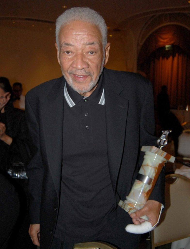 Cover and Inside Photo- R&B Entertainment icon Bill Withers. Photo by Kim Webster.