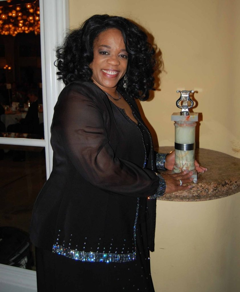 """Evelyn """"Champagne"""" King. Photo by Kim Webster."""